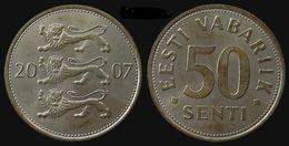 ESTONIE - 50 SENTI EESTI VABARIIK (2007) - Estonia