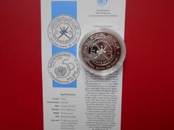 DEPART 1 EURO ! OMAN 1 RIAL ARGENT 1995 +CERTIFICAT - Oman