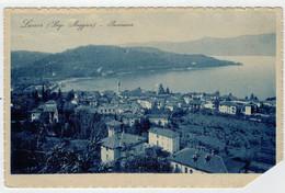 C.P.  PICCOLA    LAVENO   LAGO  MAGGIORE    PANORAMA   1926     2  SCAN  (VIAGGIATA) - Italia
