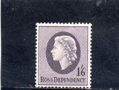 TERRE DE ROSS 1957 * - Neufs