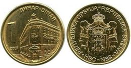 SERBIE - BANQUE DE SERBIE (BANK OF SERBIA) 1 DINARA (2007) - Serbie