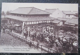Japon Osaka Funerailles Missionnaire Cpa - Osaka