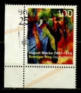 Allemagne Fédérale - Germany - Deutschland 2014 Y&T N°2917 - Michel N°3103 (o) - 1€ Oeuvre D'Auguste Macke - [7] Federal Republic