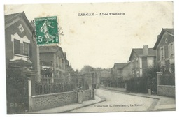 93 - GARGAN - Allée Flandrin - CPA - France
