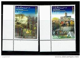 GEORGIE GEORGIA 2008, EUROPA / SCOUTS, 2 Valeurs, Neufs / Mint. R1524 - Europa-CEPT