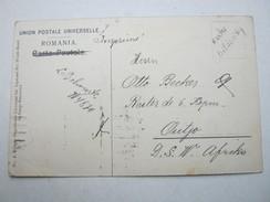 1912 , Karte Aus Bukarest Nach Outjo , Recht Selten - Colony: German South West Africa