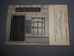 D . 59 - Estaires (nord) Carte Publicitaire Chirurgien Dentiste Rue De Lille - France