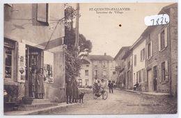 ST-QUENTIN-FALLAVIER-- L EPICERIE-LE TABAC- LE CAFE- - France