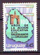 1977 The 100th Anniversary Of The Salesian Education In Uruguay  1 V. Mint ** DON BOSCO - Uruguay