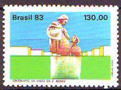 1983 Centenario De La Visión De Don Bosco. 1 V. Mint ** - Brazil