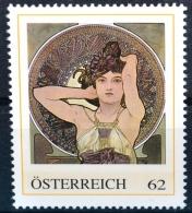 Die Edelsteine - Amethyst 1900, Alfons Mucha, Jugendstil, Art Nouveau, PM AT 2012 ** (e641) --- Free SHIPPING Within Eur - Austria