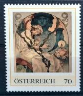 Plakat Ausstellung - Das Slawische Epos 1928, Alfons Mucha, Jugendstil, Art Nouveau, PM AT 2012 ** (e643) --- Free SHIPP - Austria