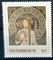 La Trapistrine 1895, Alfons Mucha, Jugendstil, Art Nouveau, PM AT 2012 ** (e646) --- Free SHIPPING Within Europe - Other