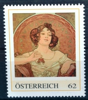 Die Edelsteine - Rubin 1900, Alfons Mucha, Jugendstil, Art Nouveau, PM AT 2012 ** (e650) --- Free SHIPPING Within Europe - Other