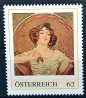 Die Edelsteine - Rubin 1900, Alfons Mucha, Jugendstil, Art Nouveau, PM AT 2012 ** (e650) --- Free SHIPPING Within Europe - Austria