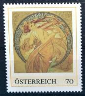 Die Vier Künste - Der Tanz 1898, Tanzen, Alfons Mucha, Jugendstil, Art Nouveau, PM AT 2012 ** (e651) --- Free SHIPPING W - Austria