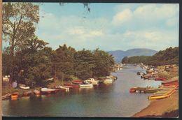 °°° 8980 - SCOTLAND - LOCH LOMOND - RIVER LEVEN AT BALLOCH - 1973 With Stamps °°° - Argyllshire