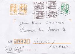 Brief In Die Schweiz (br1135) - France