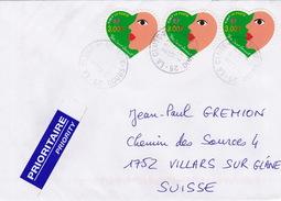 Brief In Die Schweiz (br1145) - France