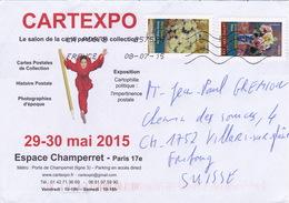 Brief In Die Schweiz (br1147) - France