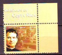 2007 I Centenario De Los Salesianos En Costa Rica. 1v. Mint ** DON BOSCO - Costa Rica