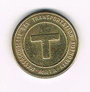 )  TOKEN MASSASHUSETTS BAY TRANSPORTATION AUTHORITY - Firma's