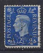 GB 1937  KG VI. 2.1/2d (o)  SG.466. Mi.202. (perfin.I CS) - Great Britain