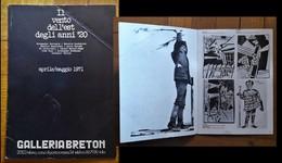 """Catalogo/brochure Mostra """"Il Vento Dell'est Degli Anni '20"""". Aprile/maggio 1971 - Arte"""