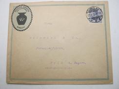 1920 , Bunzlau , Klarer Stempel Auf Firmenbrief - Allemagne