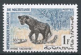 Mauritania 1963. Scott #135 (MNH) Hyene Tachetée, Spotted Hyena - Mauritanie (1960-...)