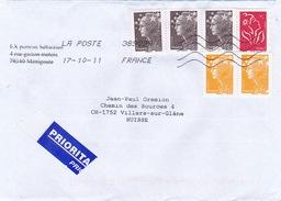 Brief In Die Schweiz (br1176) - France