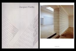 Catalogo Mostra JACQUES VIEILLE. Le Consortium, Dijon. Le Nouveau Musee, Villeurbanne 1989 - Arte