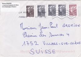 Brief In Die Schweiz (br1199) - France