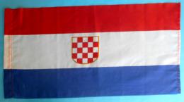CROATIA Ex YUGOSLAVIA - Beautifull Original Vintage Communist Flag ** LARGER SIZE ** Kroatien Croatie Croazia Croacia - Flags