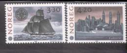 CEPT 500 Jahre Entdeckung Amerikas Norwegen 1096 - 1097 MNH ** - 1992