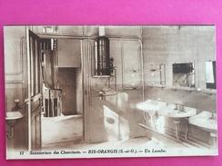91 Essonne, Ris-Orangis, Sanatorium Des Cheminots, Un Lavabo, (L. L.) - Ris Orangis