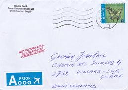 Brief In Die Schweiz (br1225) - Briefe U. Dokumente