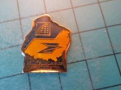 Pin1315A Pin's Pins / Beau Et Rare : LA POSTE FRANCE TELECOM DEPARTEMENT DE LA SARTHE Comité Des Loisirs .... Comme à Sa - Correo