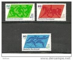 BRDmi.Nr.1046-48**/ (1989) Sporthilfe - BRD
