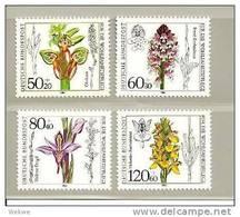 BRDMi.nr.1225-28**/ (1984) Orchideen - BRD
