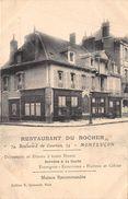 03-MONTLUCON- RESTAURANT DU ROCHER 74 BDL DE COURTAIS - Montlucon