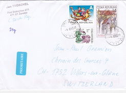 Brief In Die Schweiz (br1241) - Repubblica Ceca