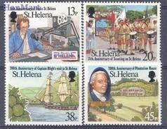 Saint Helena Island 1992 Mi 588-591 MNH ( ZS6 SHL588-591 ) - Sainte-Hélène
