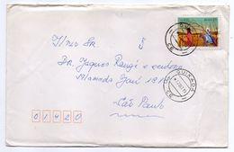 Brésil--1985--lettre De QUIXADA Pour SAO PAULO--timbre Seul Sur Lettre--Beau Cachet - Cartas