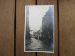 CPA PHOTO ROYAUME UNI PAYS DE GALLES ABERAVON HIGH STREET - Pays De Galles