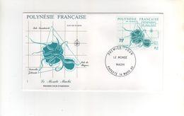 Timbre Yvert N°357 Sur Enveloppe Premier Jour Du 14 Mars 90 - Storia Postale