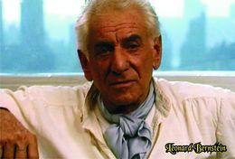 Carte Postale, Music, Famous 20th Century Conductors, Leonard Bernstein - Célébrités
