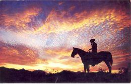 Etats Unis - 1968 - Tucson - Sundown In The Great West Country - Bob Petley Phoenix - Ecrite, Timbrée, Circulée - 2213 - Tucson