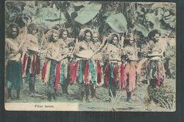 Fidji. Fidjian Dance - Figi
