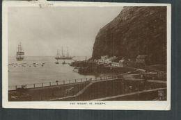 Sainte Hélène. The Warf ; La Jetée - Saint Helena Island